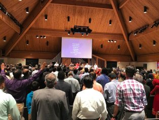 2017 CCF Combined worship past weekend with Pr Alex James.