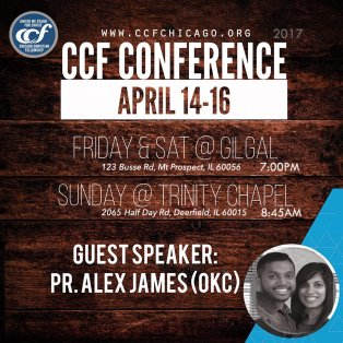CCF Conference Flyer Creation