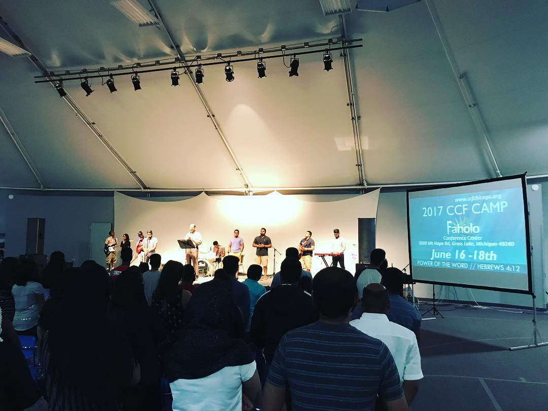 CCF CAMP 2017 NOW @ FAHOLO MICHIGAN – God is doing something Amazing Here!!