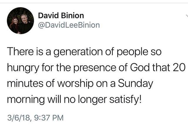 Thank you @davidbinion #truth #worshipper