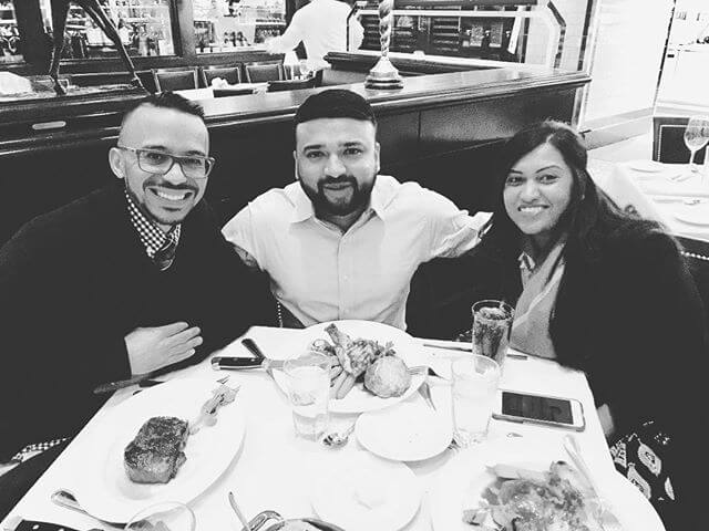 Thank you for blessing us this weekend @thejoshuajones2014 #capitalgrillechicago